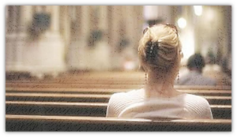 kerk sonder mense