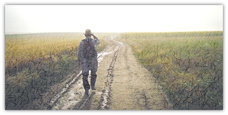 wandel op 'n pad