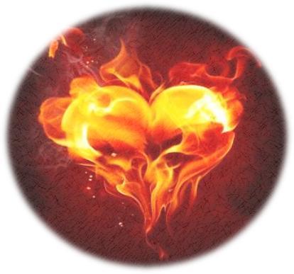 Brandende hart