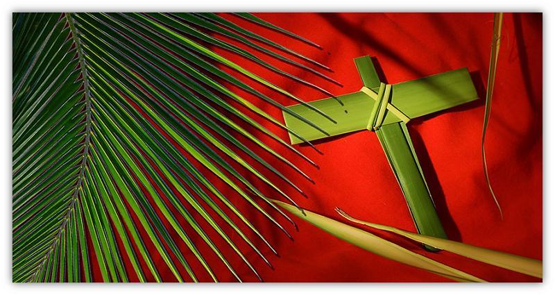 Palmtak en kruis