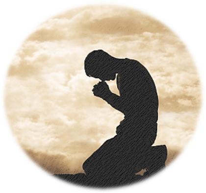gebed op knieë