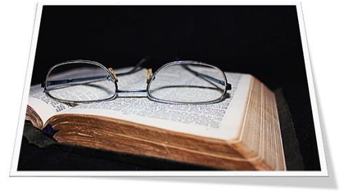 Bybel en bril