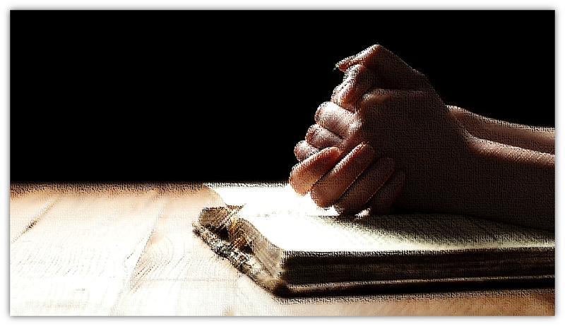 biddende hande