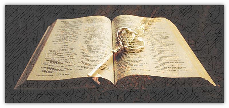Bybel met sleutel