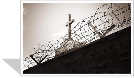 kerk agter draad