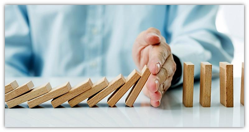 stop val van dominos