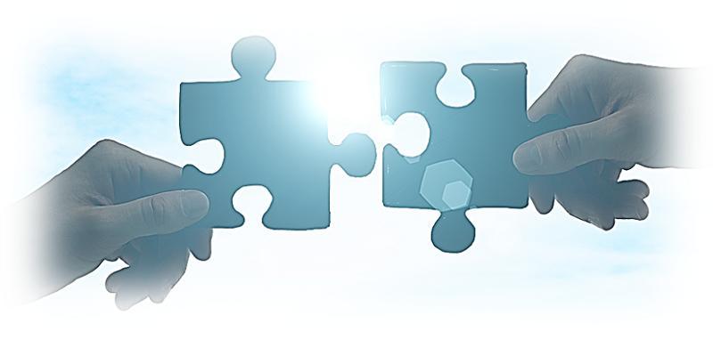 twee puzzelstukkies