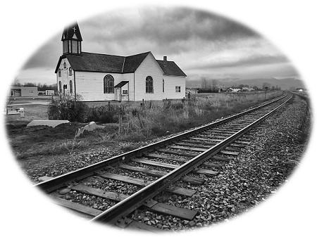 kerk en spoor