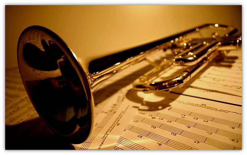Trompet en musiek