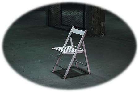 leë stoel