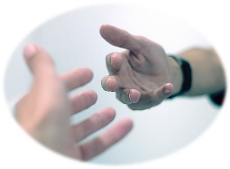 hand uitreik