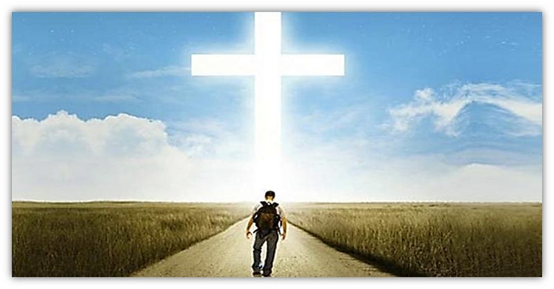 kruis en pad