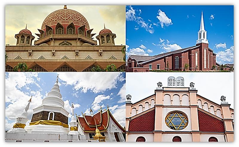 verskillende kerke