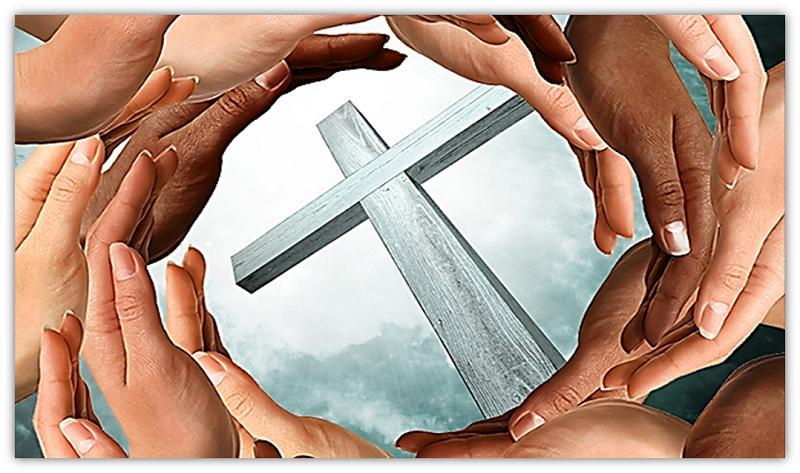 kruis en hande