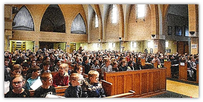 kerk en mense