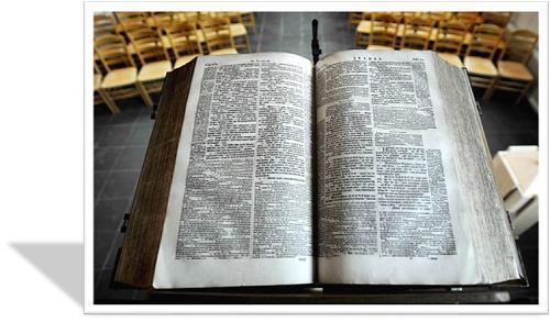 kansel Bybel