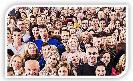 groep mense