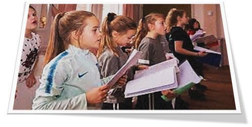 kinders sing
